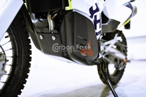 Skid Plate with Tool Case Husqvarna 701 Rally (RR) Adventure Xplorer Kit Prepregs Technology